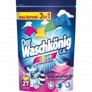 Жидкость для стирки «Der Waschkonig Mega Caps Color» 27 штх24 г.
