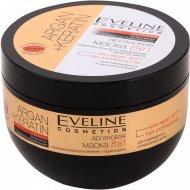 Маска для волос «Eveline» 8в1 argan+keratin, 500 мл
