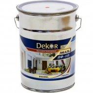 Эмаль «Dekor» ПФ-115, вишневый, 6 кг