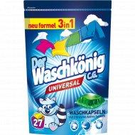 Жидкость универсальная для стирки « Der Waschkonig Mega Caps Universal».