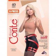 Колготки женские «Conte Elegant X-press» 40 den, mocco, 2.