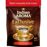 Кофе растворимый «Indian Aroma» Exclusive, 60 г.
