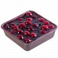 Торт «Венский пирог» вишнево-голубичный + ложечка в подарок, 0.25 кг