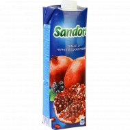Нектар «Sandora» из граната и черноплодной рябины, 0.97 л.