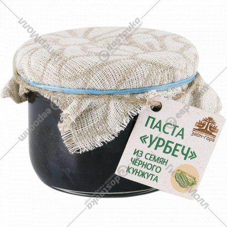 Урбеч «Звон-Гора» из семян черного кунжута, 230 г.