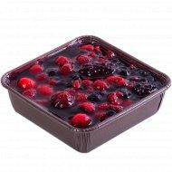 Торт «Венский пирог» ягодная поляна + ложечка в подарок, 250 г.
