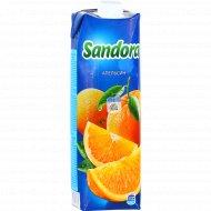 Сок «Sandora» апельсиновый с мякотью, 0.97 л.
