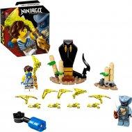 Конструктор «LEGO» Ninjago Legacy, Джей против воина-серпентина