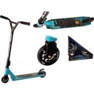 Самокат трюковой «WX» Sport, WX-ST220, голубой/бирюзовый, 1127