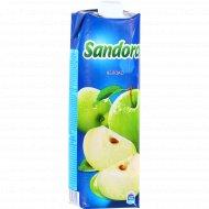 Сок яблочный «Sandora» осветленный, 0.97 л.