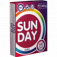 Средство моющее «Sunday» для цветного, 400 г.