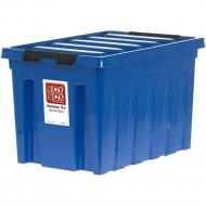 Контейнер «Rox Box» На Роликах, Синий, 70 л