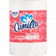 Полотенца бумажные «Camilla» 2 слоя, 1 рулон.