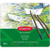 Набор акварельных карандашей «Derwent» 24 цвета, 2301942