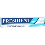 Зубная паста «President» Sensitive, 75 мл.