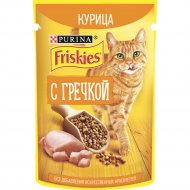 Корм для кошек «Friskies» курица и гречка, 75 г