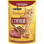 Корм для кошек «Friskies» говядина и гречка, 75 г.