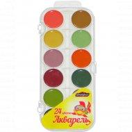 Краски акварельные «Юнипресс» 24 цвета