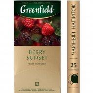 Чайный напиток «Greenfield» Berry Sunset, 25х2 г