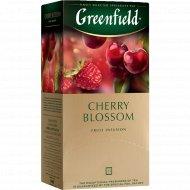 Чайный напиток «Greenfield» с ароматом вишни, 25 пакетиков.