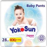 Подгузники-трусики для детей «YokoSun» размер XXL, 15-23 кг, 28 шт.