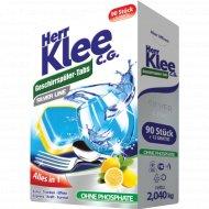 Таблетки для посудомоечных машин «Herr Klee» C.G.Silver Line, 102 шт.