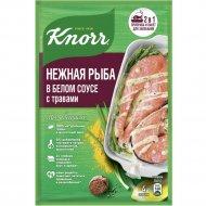Сухая смесь «Knorr» нежная рыба в белом соусе с травами, 23 г.