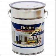 Эмаль «Dekor» ПФ-115, серый, 6 кг