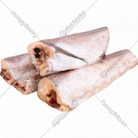 Рыба свежемороженая «Хек» тушка, 1 кг., фасовка 0.2-0.3 кг