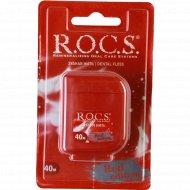 Зубная нить «R.O.C.S.» Red edition 40 м.