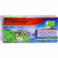 Напиток чайный «Milford» мята - листья апельсина , 20 пакетиков, 40 г.