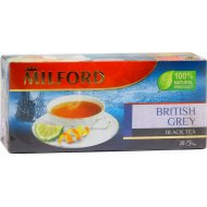 Чай черный «Milford» Бритиш Грей, 20 пакетиков.