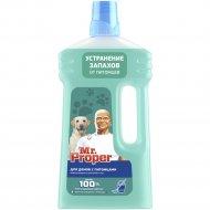 Моющая жидкость «Mr.Proper» для домов с питомцами, 1 л.