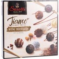 Конфеты шоколадные «Трюфели Tiamo ассорти» с мягкой начинкой, 200 г