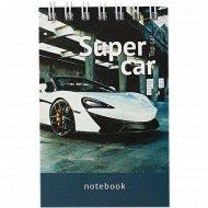 Блокнот «Авто. Top car» A7, 40 листов.