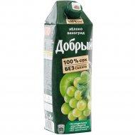 Сок «Добрый» яблочно-виноградный, 1 л.