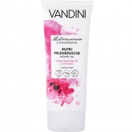 Гель для душа «Vandini» Nutri, цветок пиона и арагановое масло, 200 мл