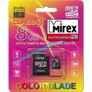 Карта памяти «Mirex» 8GB, 13613-AD10SD08.