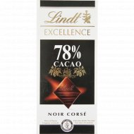 Шоколад горький «Lindt» 78% какао, 100 г.