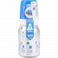Бутылочка для кормления «Canpol Babies» пластиковая,120 мл.
