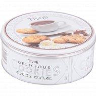 Печенье «Tivoli» молочный и тёмный шоколад 150 г.