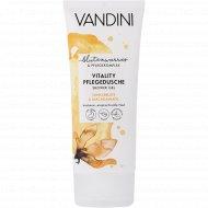 Гель для душа «Vandini» Vitality, цветок ванили и макадамия, 200 мл