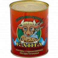 Консервы «Каша перловая» с говядиной, 340 г.