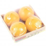 Набор свечей «Provence» 560129/13, желтый, 4 штуки