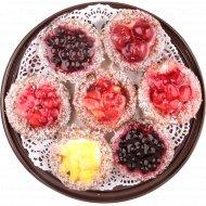 Набор пирожных «Люба Печь» Ягодный восторг, 420 г