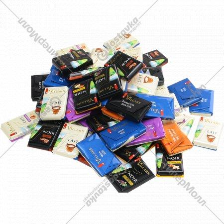 Ассорти из шоколадных плиток «Villars» 1 кг., фасовка 0.15-0.2 кг