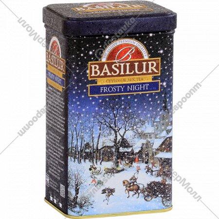 Чай черный «Basilur» Festival Collection Frosty Night, 85 г.