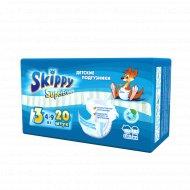 Подгузники для детей «Skippy» размер 3, 4-9 кг, 20 шт.