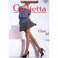 Колготки женские «Giulietta» Class, 40 den, размер 4, visone