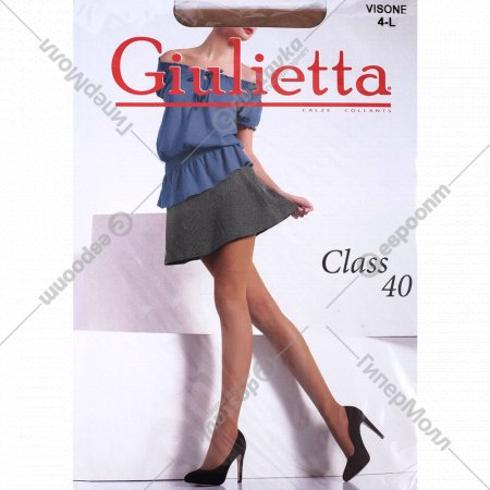 Колготки женские «Giulietta» Class 40, vis.
